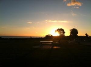 Sunset Pismo Beach, CA Dec 30, 2012