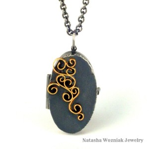 Wrought Inlay Locket