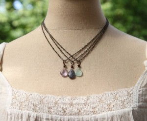 "The beautiful ""On Your Path"" necklace by Liz Lamoreux."