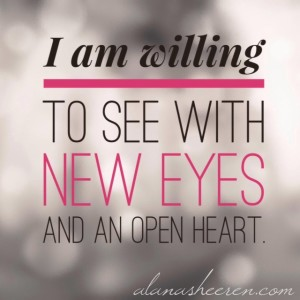 I am willing to see...