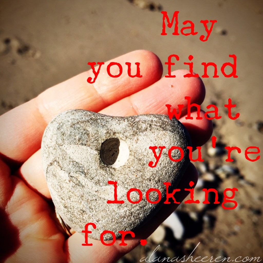 May you find what you're looking for