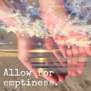Allow for emptiness