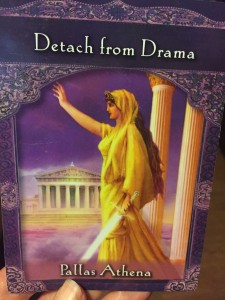 From the Ascended Masters Oracle Cards by Doreen Virtue, Ph.D.