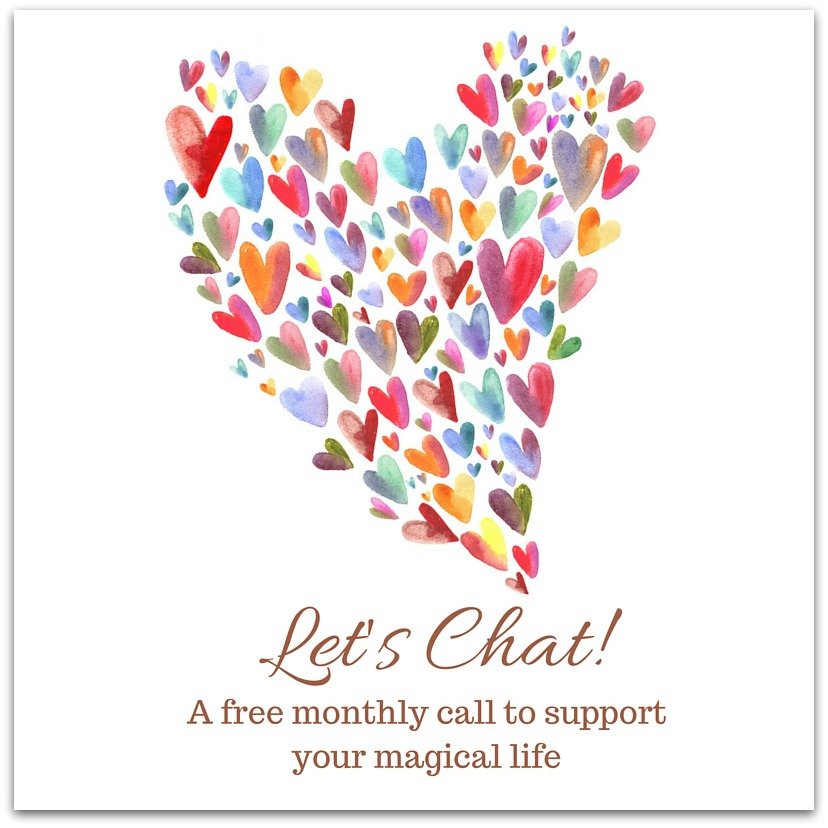 Let's Chat Hearts Image